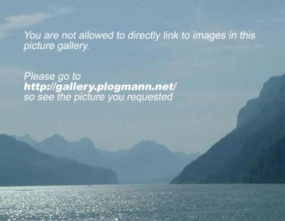 Blick über den Bodensee von der Insel Mainau aus