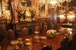 Der opulente Speisesaal des Palastes