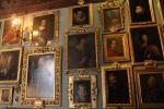 Barocken Gemälde im Billiardzimmer