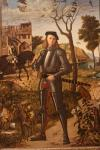Young Knight in a Landscape Vittore Carpaccio, 1510