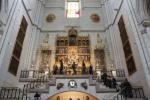 Altar of Virgen de la Almudena in the southern part of the Almudena Cathedral