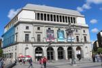 Back entrance of Teatro Real (Royal Theatre)