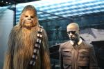 Orignal costumes of Han Solo and Chewbacca
