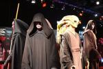 Various costumes of Jedi and Sith
