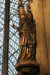 Madonna statue inside Cologne Cathedral