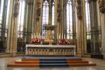The Shrine of the Three Kings is the center piece of Cologne Cathedral