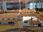 Model of the original villa or palace