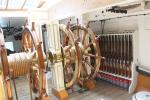 Ruder der HMS Warrior