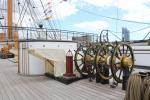 Upper deck of HMS Warrior