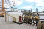 Upper deck of HMS Warrior
