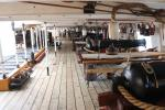 Gundeck of HMS Warrior