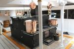 Galley on HMS Warrior
