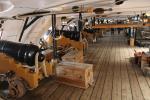 Kanonendeck der HMS Victory