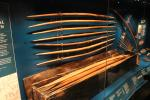Mary Rose longbows that survived its sinking in 1545