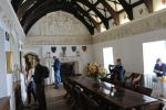 Chevy Chase room, originally the refectory of the priory, later used as the dining room.