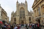 Western facade of Bath Abbey