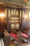 Orgel in Kapelle des Hatfield House