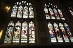 Holy Trinity Church: Stained glass windows