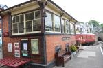 Signal box at the Llangollen Railway station