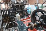 Stromgenerator im Museum of Science and Industry in Manchester