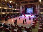 Dance floor in the Blackpool Tower Ballroom