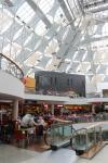 Das St. Enoch Einkaufszentrum in der Innenstadt von Glasgow
