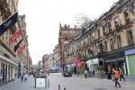 Ansichten der Innenstadt von Glasgow