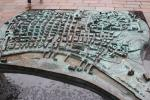 Overview model of old Glasgow