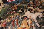 Reconstruction of Unicorn Tapestries in the Royal apartments of Stirling Castle