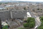 View from Edinburgh Castle over the city
