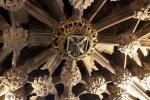 Ceiling above the entrance to the Thistle Chapel in St Giles' Cathedral