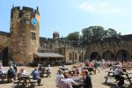Alnwick Castle Courtyard Cafe
