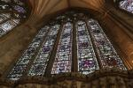 Large window in the Chapter House of York Minster