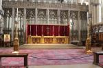 Altar behind the quire of York Minster