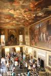 Painted Hall with the grand staircase of the palace