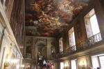 Painted Hall with the grand staircase of the Chatsworth House palace