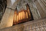 Organ above the King's Screen of York Minster