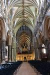 Main nave of Lincoln Cathedral