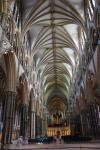 Nave of Lincoln Cathedral