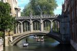 Bridge of Sighs over the river Cam behind St John's College