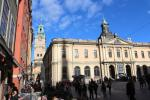 Gamla Stan: Svenska Akademien and Nobel Museum on Stortorget square