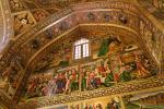 Armenisches Fresko im Inneren der Vank-Kathedrale