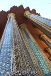 Außenfassade des Smaragd-Buddha Tempels (Wat Phra Kaeo)