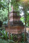 Ausstellung typischer traditioneller Thai Häuser und Gebräuche auf dem Gelände des Siam Niramit