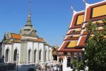 Tempel des Smaragd-Buddha (Wat Phra Kaeo) im Großen Palast von Bangkok