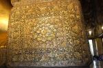 Goldene Verzierungen im Wat Pho, dem Tempel des liegenden Buddha