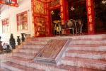 """Wehat Chamrun (""""Himmlisches Licht""""), ein zweistöckiger Palast im chinesischen Stil im Park des Sommerpalasts Bang Pa-In bei Ayutthaya"""