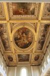 Baroque ceiling of the Banqueting House in Whitehall