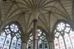 Chapter house in Westminster Abbey