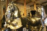 Armour collection shown in the White Tower of the Tower of London